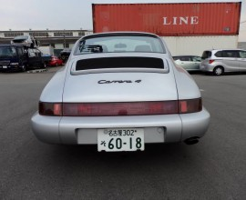 Twice Imported Porsche 911 Carrera 4